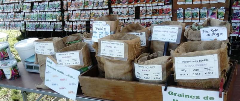 Plateforme de vente de végétaux destinée aux professionnels